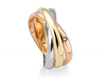Traditional Russian Wedding Ring and Three Band Russian Wedding Ring means Faith, Hope, and Love