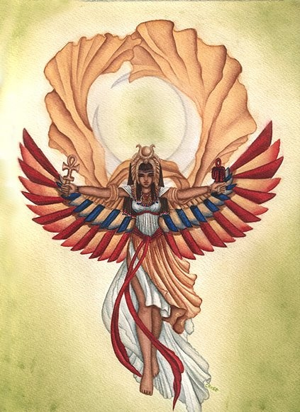isis goddess symbol