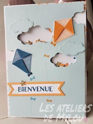 Les Ateliers de Mylou...: Shaker card! 2/4