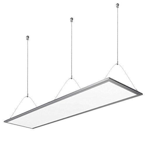 LE 36W Panneau Lumineux LED, Equivalent à 80W Ampoules Fluorescentes, 2700lm, Blanc chaud, 295mm*1195mm, Plafonnier LED: Cet article LE 36W…