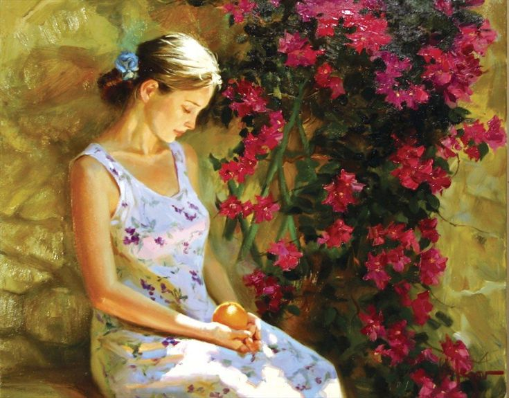 Vladimir Volegov Vides Florecientes Painting