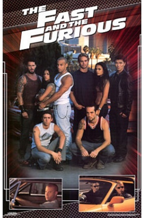 The Fast and the Furious Movie (Group) Poster Print Prints - at AllPosters.com.au