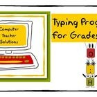 My students love this typing program and currently use it in my own computer lab! This easy to use program works directly in Microsoft Word, so the...