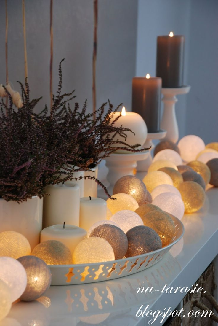 Cosy bedroom fairy lights - Cotton Ball Lights Also Known As Fairy Lights