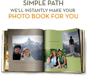 Shutterfly.com is seriously one of the coolest places!!! You can make a photo book for anyone (I have made boyfriends, friend's graduations, and my sisters use these to keep up with kids growing up) They are not too expensive and a great way to keep all of your photos organized or make a memorable gift for somebody!!!