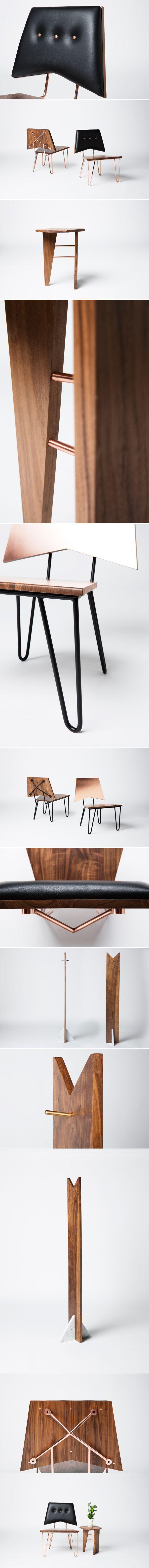Handmade Furniture by Levi Christiansen via iamthelab.com