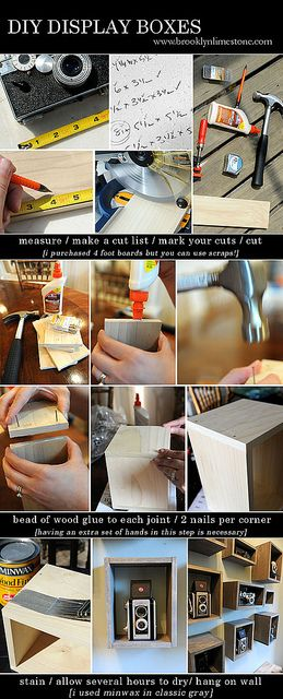 DIY Display Boxes Tutorial