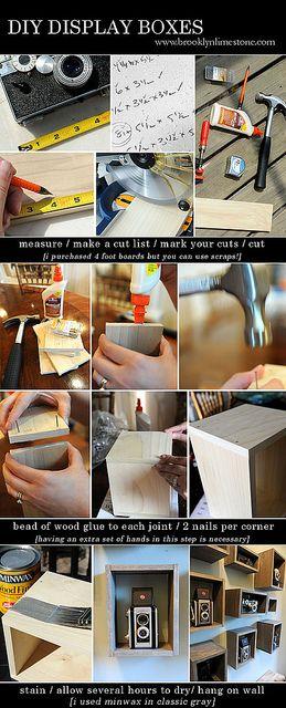 DIY Display Boxes