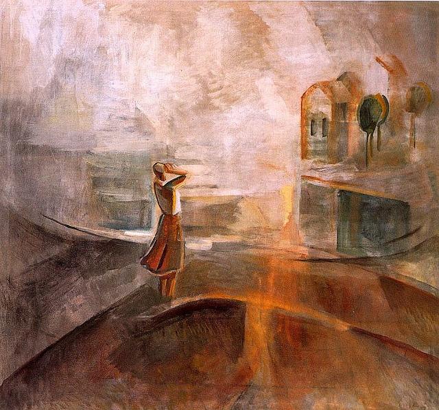 Egry, Jozsef (1883-1951) - 1936 Echo (Hungarian National Gallery, Budapest) by RasMarley, via Flickr