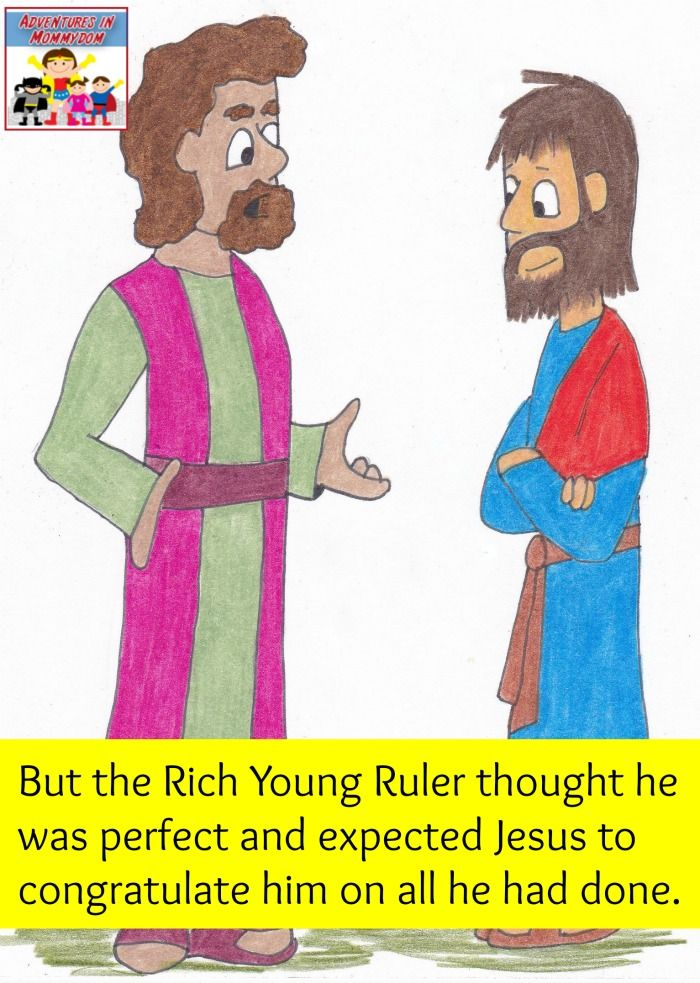 Zachaeus versus Rich young ruler lesson