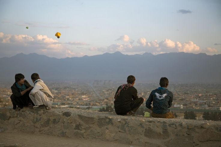 Photo essay: Filmmaking on the streets of Kabul - film kite flying in Kabul. It's a huge community gathering and such a beautiful part of the culture.