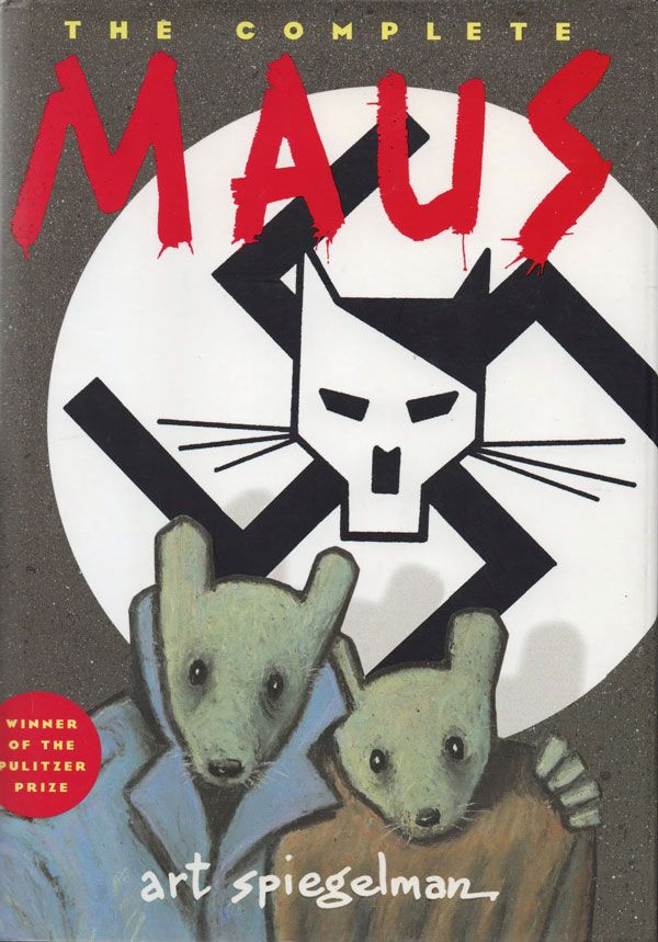 Maus - Art Spiegelman's harrowing and accomplished graphic memoir about his family's experience in the Holocaust.