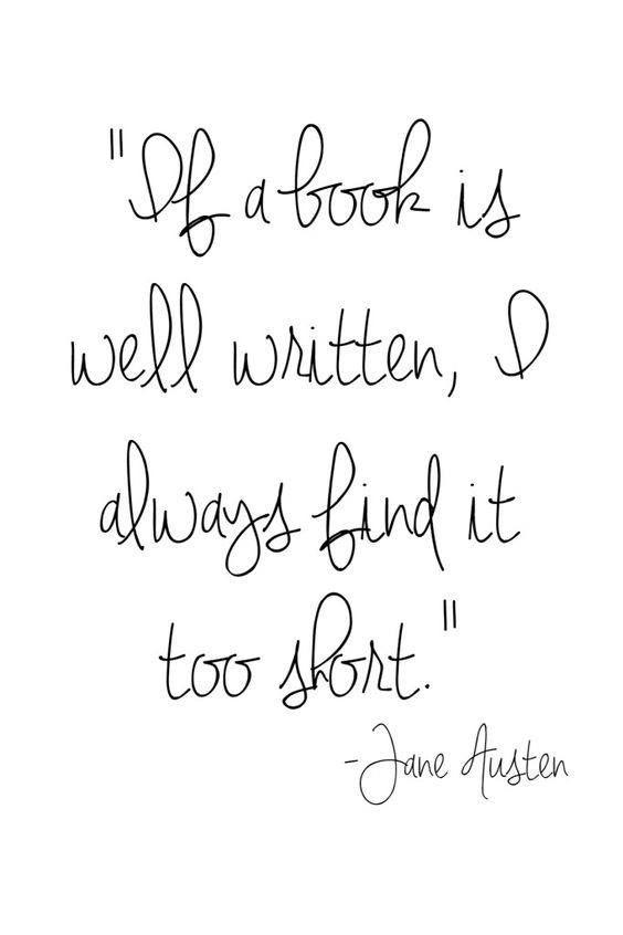 Very, very true!