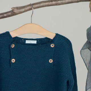 Une brassière et un pull tricotés pour bébé - Marie Claire Idées