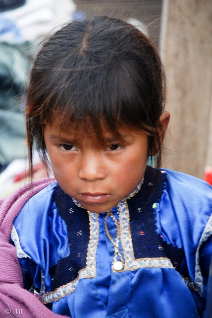 Child in Mexico