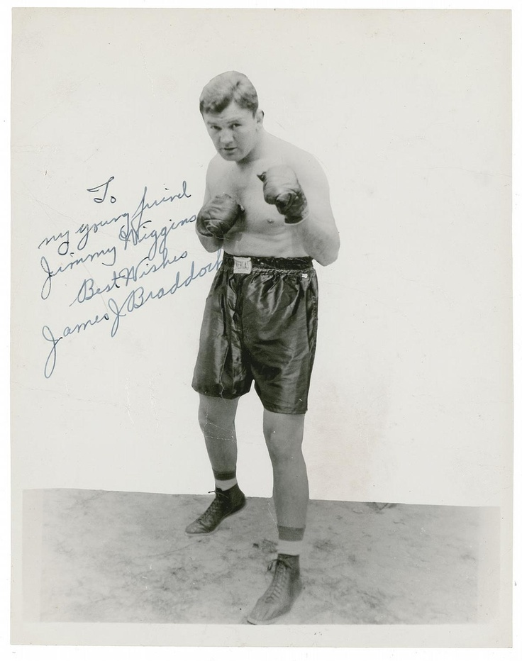 "James Walter ""The Cinderella Man"" Braddock (June 7, 1905 – November 29, 1974) was an American boxer who was the world heavyweight champion from 1935 to 1937.  Fighting under the name James J. Braddock (ostensibly to follow the pattern set by two prior world boxing champions, James J. Corbett and James J. Jeffries), he was known for his powerful right hand, granite chin and an amazing comeback from a floundering career. He had lost several bouts due to chronic hand injuries and was forced to…"