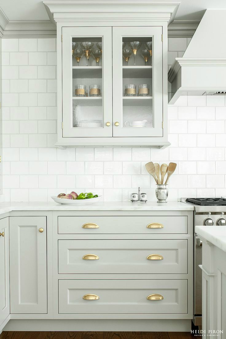 gray kitchen design idea 54