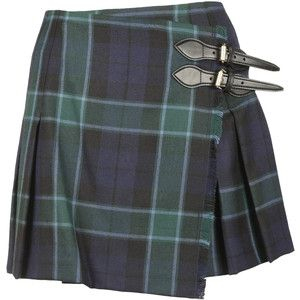 Burberry Plaid Mini Skirt