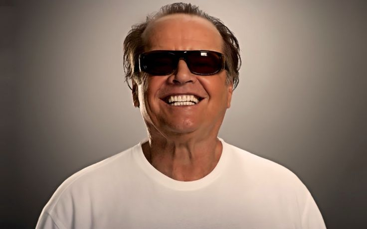 Now here is Jack Nicholson just after he got a Massage love that smile Jack ....