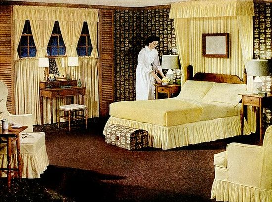 find this pin and more on retro rooms rich and ornate bedroom design - Retro Bedroom Design