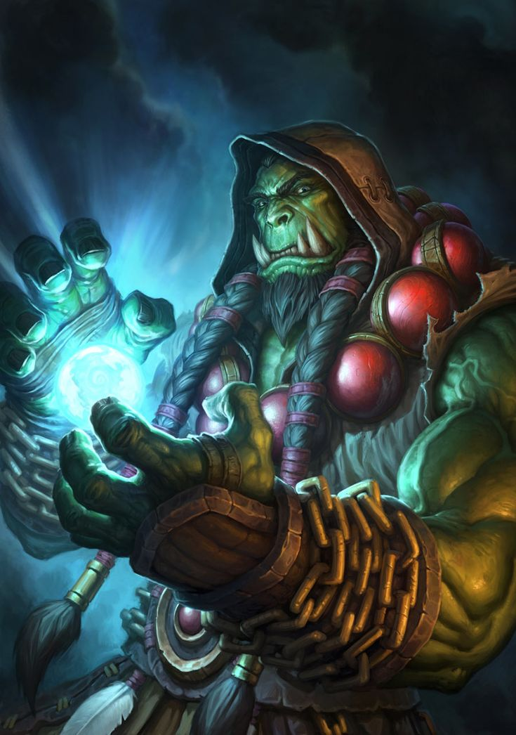 Thrall - Characters & Art - Hearthstone: Heroes of Warcraft