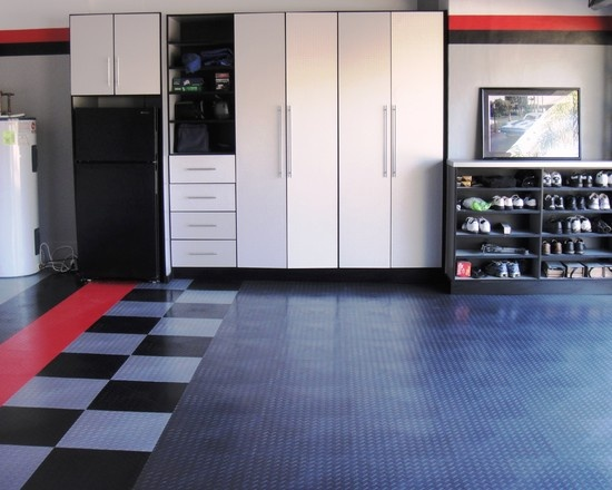 17 best images about garages and man caves on pinterest for Man cave garage floor ideas
