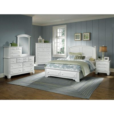 Hamilton Franklin King Panel Bed W/Storage   Bernie And Phyls