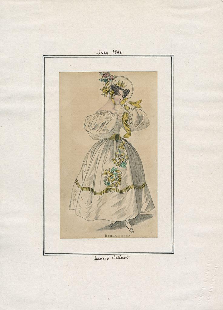 Ladies' Cabinet July 1832 LAPL