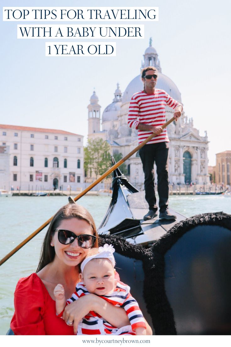 Top Tips For Traveling With A Baby Under 1 Year Old 2020
