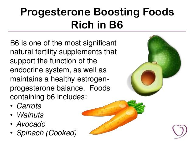 how to increase progesterone naturally by food - Google Search