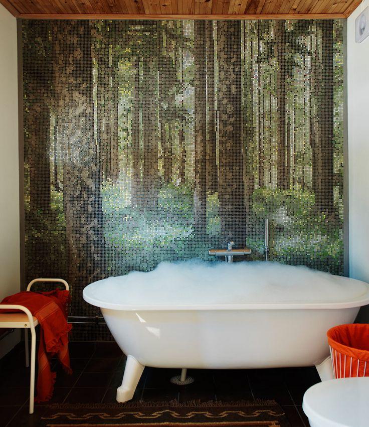 Bathroom. Photo: Carl Dahlstedt/Sköna hem