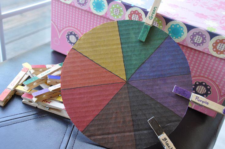 Color Wheel busy box