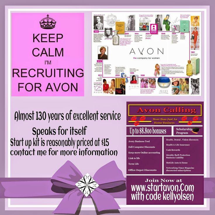 Make Up & The Tomboy Recruiting Avon Representatives