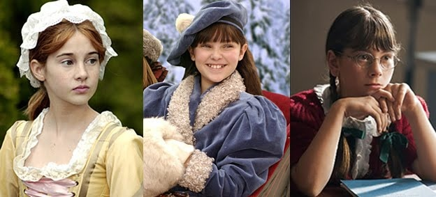 Felicity, Samantha, and Molly....3 out of 6 American Girl Doll Movies!