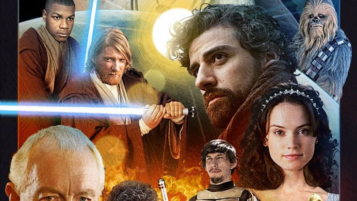 See The Entire 'Star Wars: Episode VII' Cast On One Poster Good.