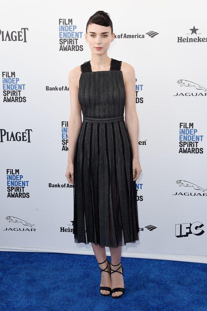 Rooney Mara in Hugo Boss at the 2016 Spirit Awards