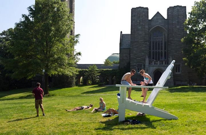 Summer fun on Parrish Beach. http://www.payscale.com/research/US/School=Swarthmore_College/Salary