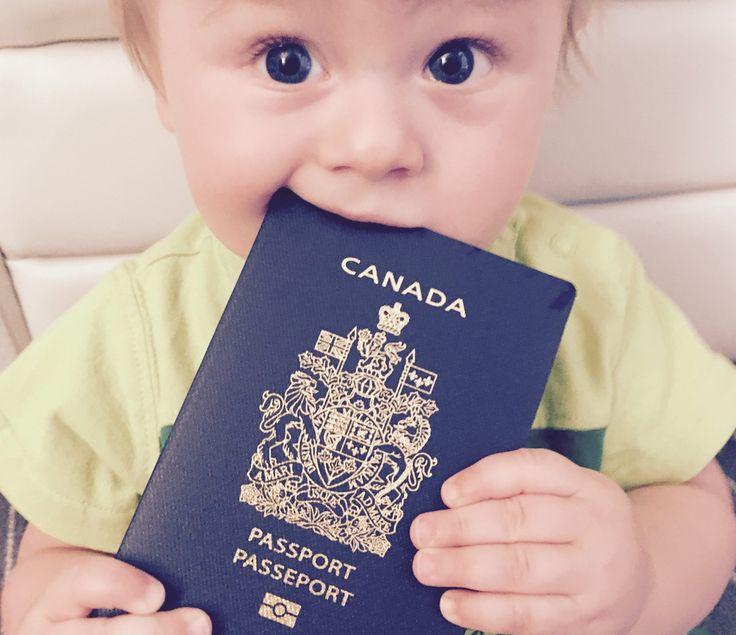 Le passeport canadien pour enfant