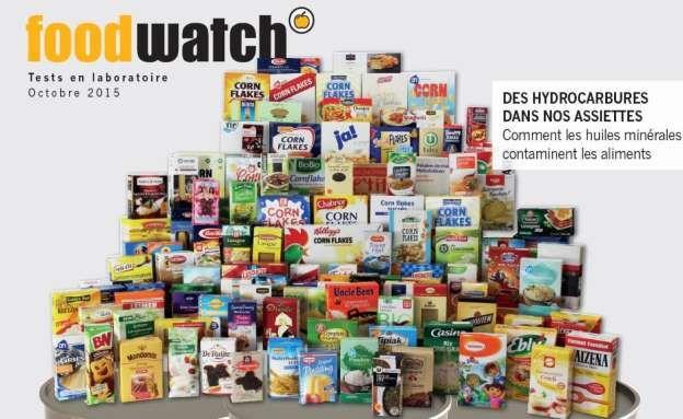 Los 120 alimentos analizados por Foodwatch.