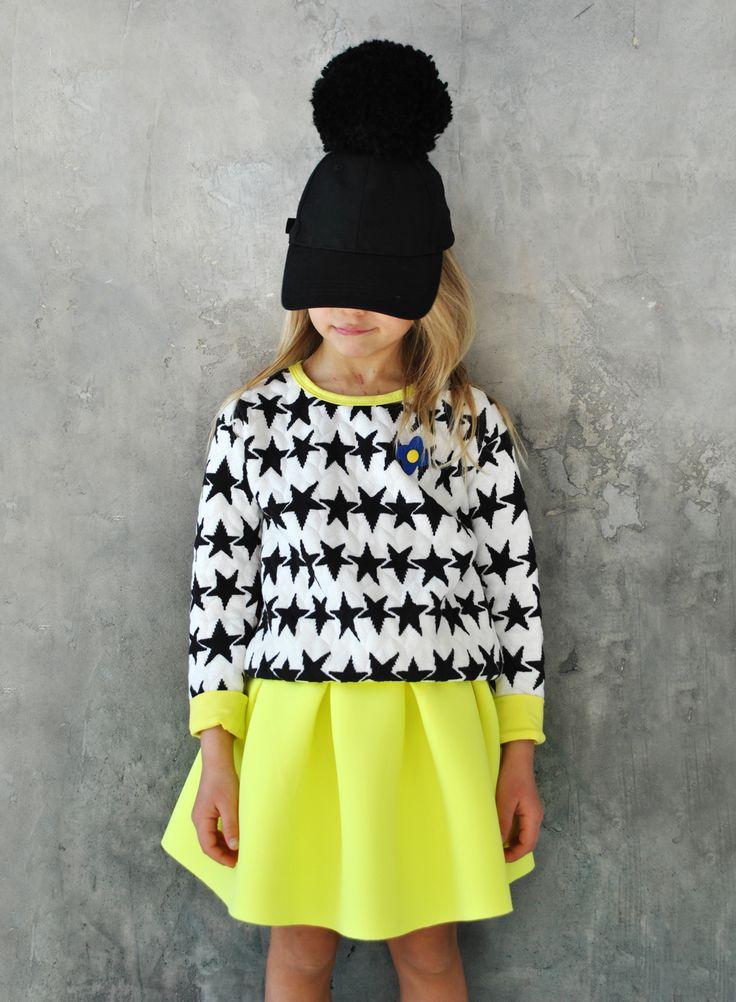 """BINKI Стёганый Свитшот """"Star"""" #binkiru #детскаяодежда #магазиндетскойодежды"""