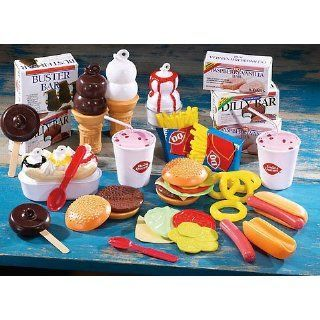 Dairy queen play food set dairy queen kids play kitchen for Kitchen queen set