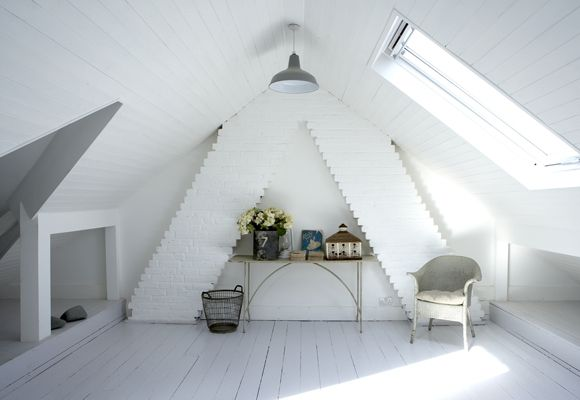 white loft conversion