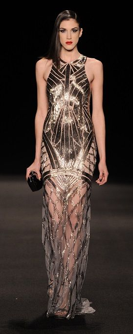 Monique Lhuillier Fall 2015 - Look 26 at Moda Operandi jaglady