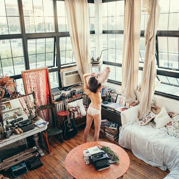 #UOonCampus #UOContest Idyllic Days || Latest editorial shot at loft apartment in Brooklyn. @tim_swallow_photo