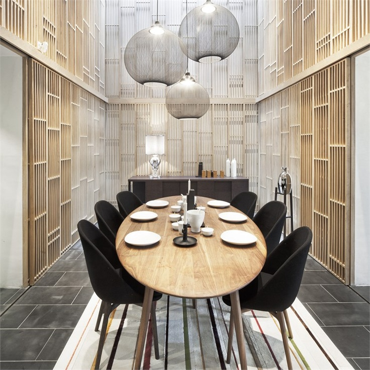 Vanke model home shanghai 2010 by neri hu design and research architecture
