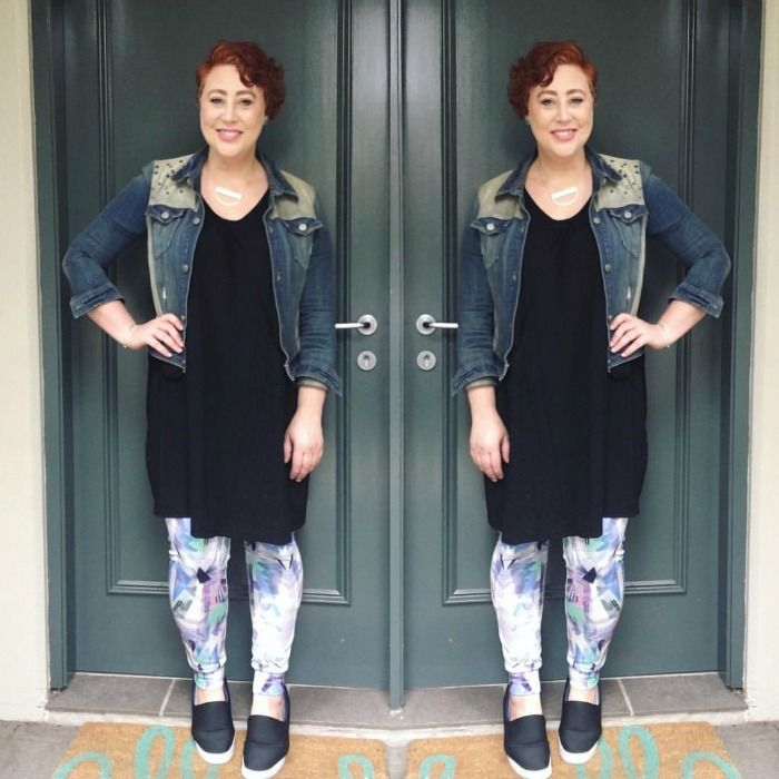 Frocktober 2016 wearing DKNY, Lillianna Plus, Boohoo FIT, Dion Lee for Target