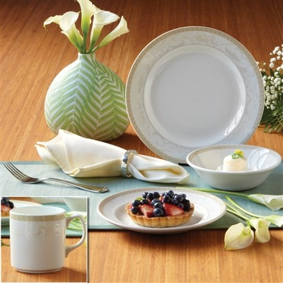 Guiding The Brides Antionette Dinnerware Set