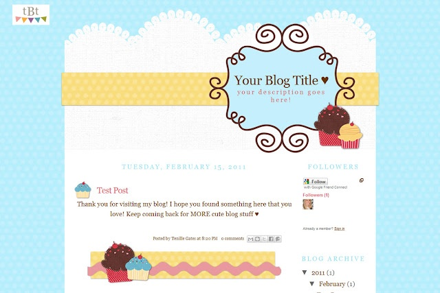 Cute Free Blogger Templates Blogging And Sites To Bookmark Blog Planning