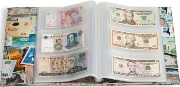 Banknotenalbum für 300 Banknoten   MDM Deutsche Münze
