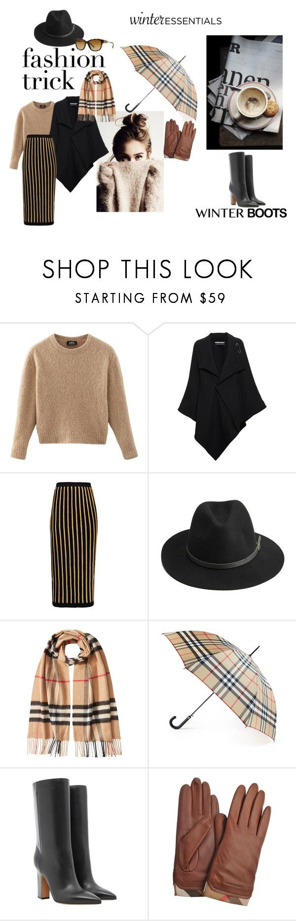 """Untitled #108"" by popescu-io on Polyvore featuring Roland Mouret, Balmain, BeckSöndergaard, Burberry and Valentino"